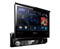 AVH_X7750B מסך 7 אינצ' חשמלי נפתח עם Bluetooth מובנה ומצב AppRadio ישיר ל-iPod/iPhone