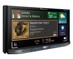AVH-X8750BT מסך 7 אינצ' עם Bluetooth מצב AppRadio ל-iPod/iPhone ותמיכה ב-Apple CarPlayAndroid Auto