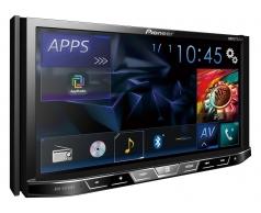 AVH_X5750BT מסך 7 אינצ' עם Bluetooth מובנה ומצב AppRadio ישיר ל-iPod/iPhone