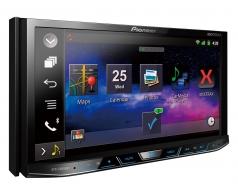 AVH_X8650B מסך 7 אינצ' עם Bluetooth מצב AppRadio ל-iPod/iPhone ומירורלינק מובנה