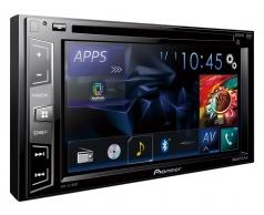 AVH_X2750BT מסך 6.2 אינצ' עם Bluetooth מובנה ומצב AppRadio ישיר ל-iPod/iPhone